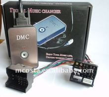 Car digital CD changer with USB/SD.