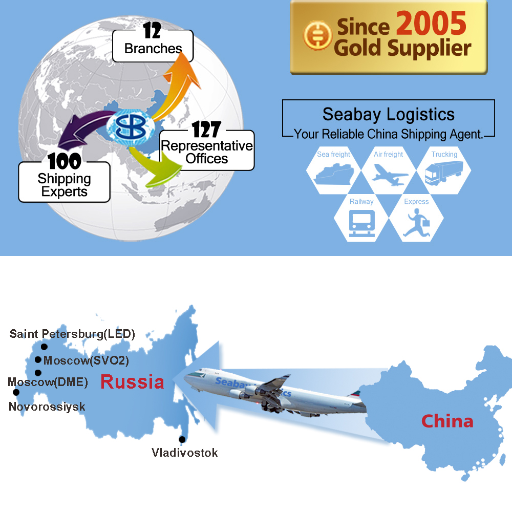 Fast air freight forwarding cargo shipping service from china beijing shenzhen guangzhou to moscow dme svo1 svo2