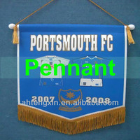 Pennant string flags
