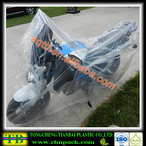plastic rain cover for motorcycle