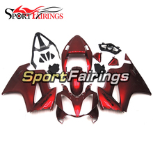 Injection Fairings For Honda VFR800 2002 - 2012 ABS Plastic Complete Motorcycle Fairing Kit Body Frame Red Covers