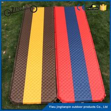Joinable self automatic blow-up sleeping cheap folding mattress pvc inflatable air bed