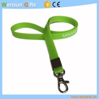 Promotional silicone lanyards bracelet cheap factory price