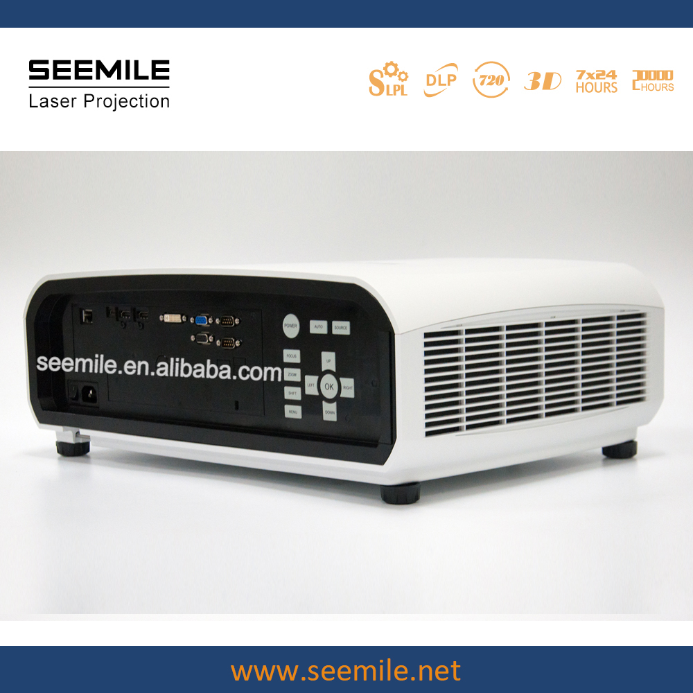 SEEMILE 3d cinema system projector outdoor movies 15000 lumens Laser projector