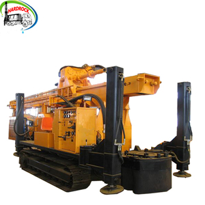 800m DTH Crawler Mounted Water Well Drilling Rig borehole water boring machine