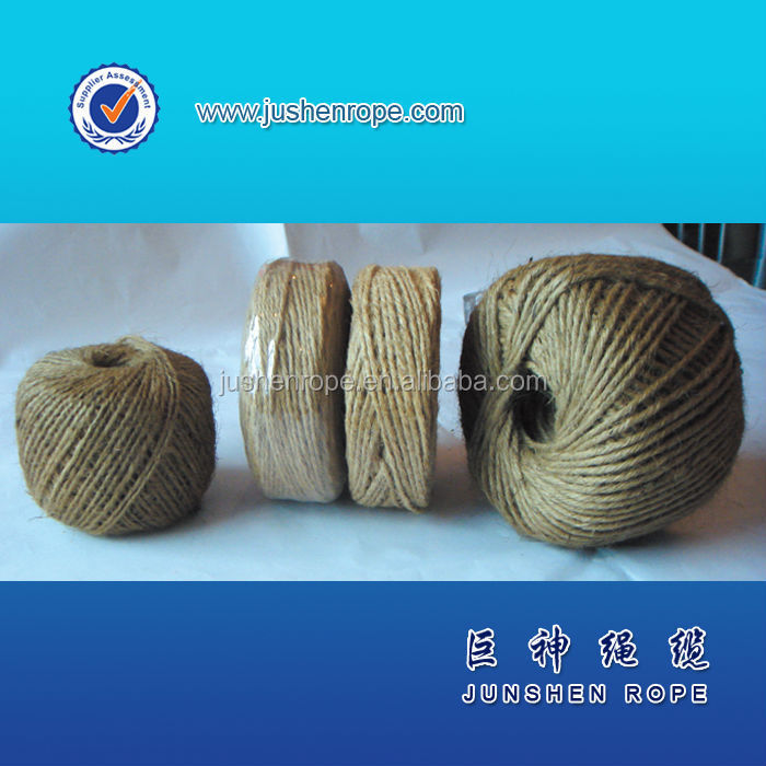 Natural high strength cheap 1mm jute twine wholesale