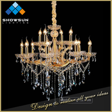 classical style European Maria fashion technology luxury hotel lobby crystal light