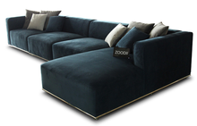Modern style 4 seater sofa with right chaise