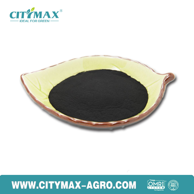 100% water soluble potassium humate powder