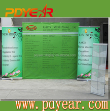 Full Color Printing Aluminium Alloy velcro Pop Up Display Stand