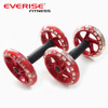 Abdominal AB Wheel Body Exerciser Roller with Double Wheel (1pair )