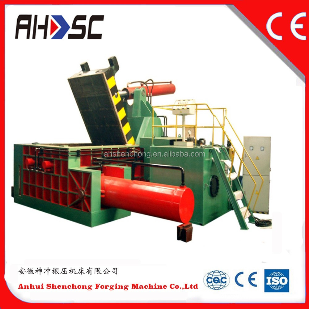 Y81 Metal Scrap Automatic Hydraulic Baler/Automatic Press Machine Y81 Metal Scrap Automatic Hydraulic Baler