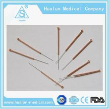 OEM/ODM medical Acupuncture instrument disposable veterinary needles with sterile