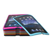Bulk Wholesale Tablet Silicone Case For Ipad 2( IPD2-005)