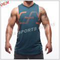 2017 manufacturer low price cotton men's muscle sleeveless fit t shirt