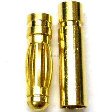 RC Connector 3mm 3.0mm Gold Plated Male and Female Bullet Banana connector plug