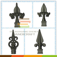 Iron cast factory selling cast iron spears