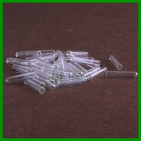 Dia. 6mm x 30mm mini glass test tube