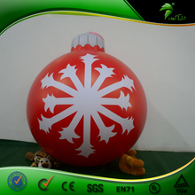 Christmas Decoration LED Light Inflatable Hanging Balloon for Event/Party/Club/Stage/Birthday/Holiday