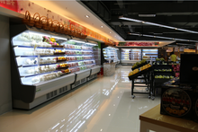 Commercial Refrigerated Produce Display Cooler for Vegetable