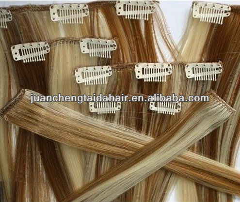 factory direct wholesale brazilian hair hot beauty supply quality clip in hair extension