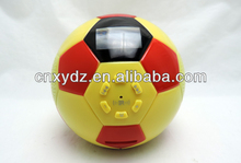 Football or soccer bluetooth super bass mini sound box with TF card reader