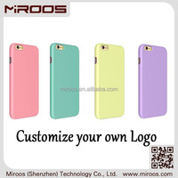 Wholesale customized high quality cell phone accessory for iphone 5 6 7 pc case colorful