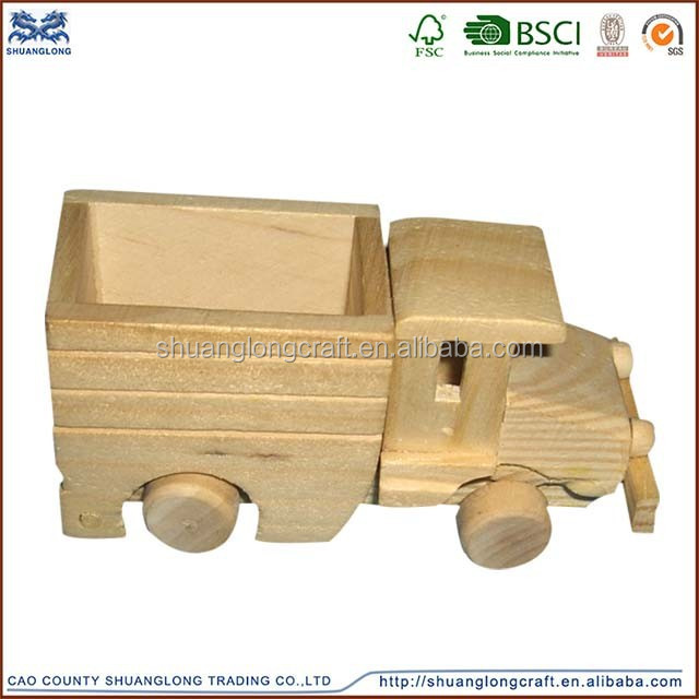 new unfinished wooden car model for children toy,kids toys
