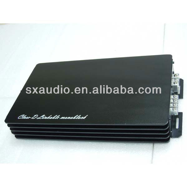 series car amplifier 2013 classical Class D RMS 1500W digital