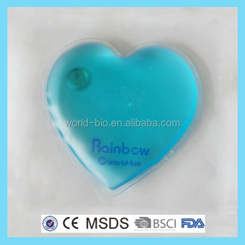 Portable Heart Shape Instant Hot Pack For Gift
