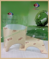 Accept Custom Order Good Quality Best Price Custom Printed PP Bottom Gusset Stand up Pouch Plastic Bag for Bread