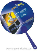 custom plastic hand fan&small hand fans with lower price