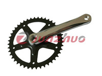 high quality low price bicycle single speed chainwheel and crank made in china