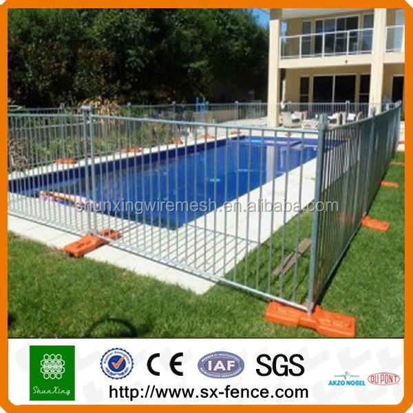 Hot Dipped Galvanized Round Tube Swimming Pool Safety Fence Buy Swimming Pool Safety Fence