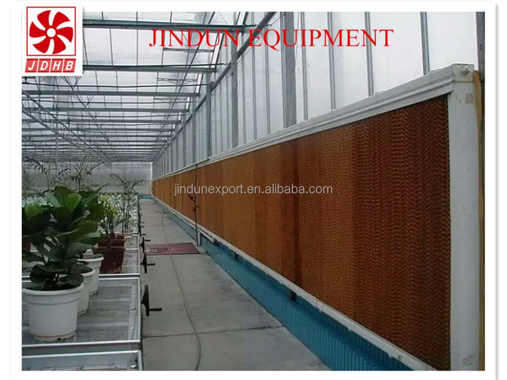 China OEM service poultry house corrugated cellulose evaporative wall cooling pad
