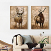 Handmade Realistic Animal Oil Paintings For Dining Room