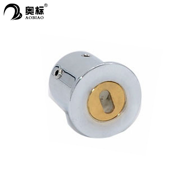 Stainless steel glass round tube corner connector for sliding glass shower door