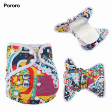 Baby Cloth Diaper Cover/Without Insert Diaper Nappy
