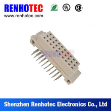China Supplier 2.54mm Pitch SGS Certificate DIN41612 Female DIN Connector