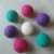 Super quality wash laundry soften ball wool dryer ball in nepal 7cm dryer ball