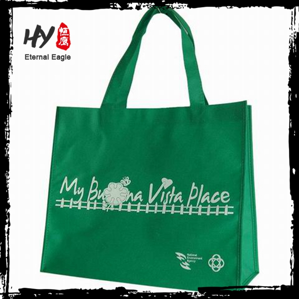 Promotional nonwoven tote, collapsible shopping bag, printable reusable shopping bags