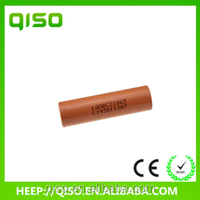 Wholesale lithium ion 2800mah LG 18650 C2 battery for vaper/E-cigarette