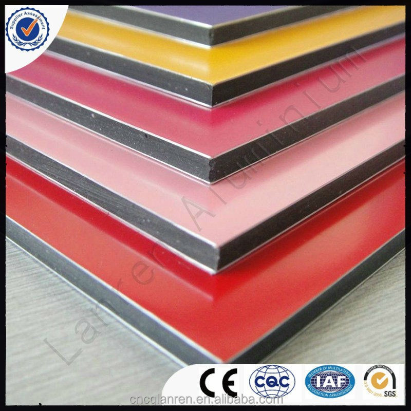 Unbreakable insulated aluminum panels/acp