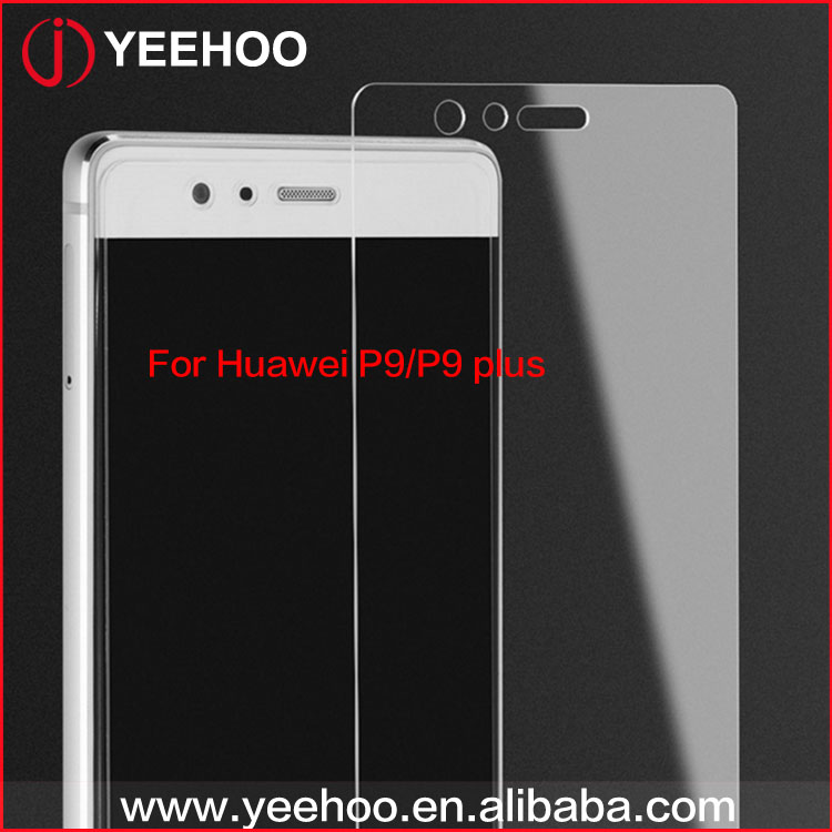 9h explosion-proof tempered glass screen protector for Huawei P9, For Huawei P9 screen guard 9H hardness