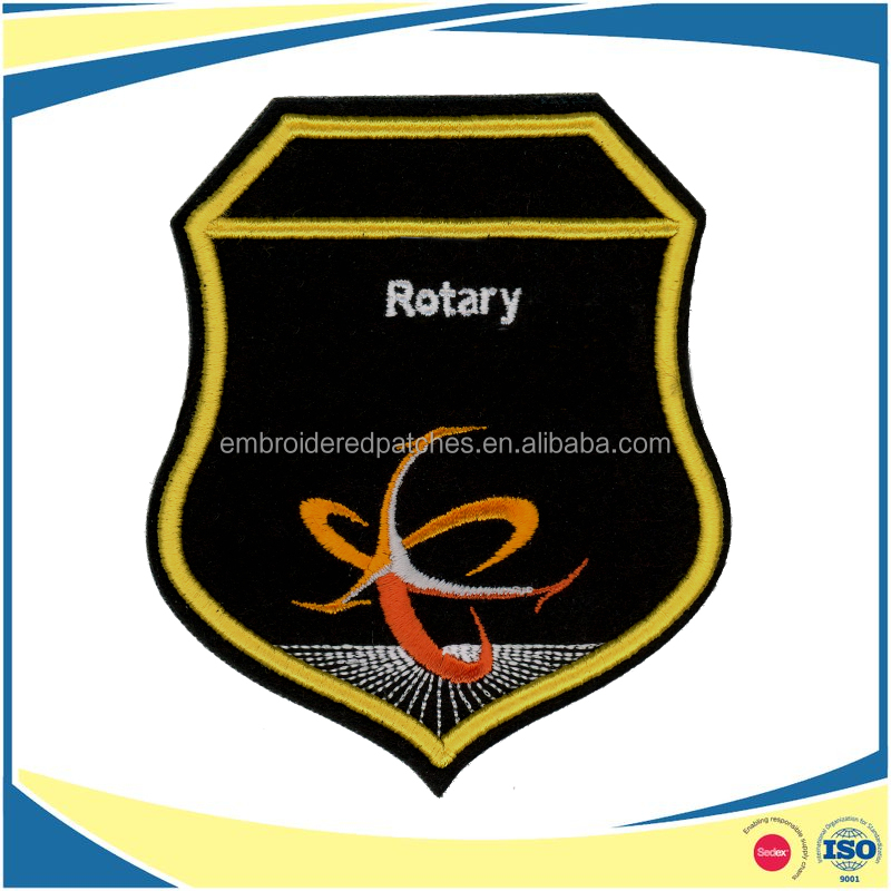 High Quality Customized 3D Embroidery Patches