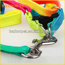 Factory Price Rainbow Nylon Leash For Small Dogs New Pet Product