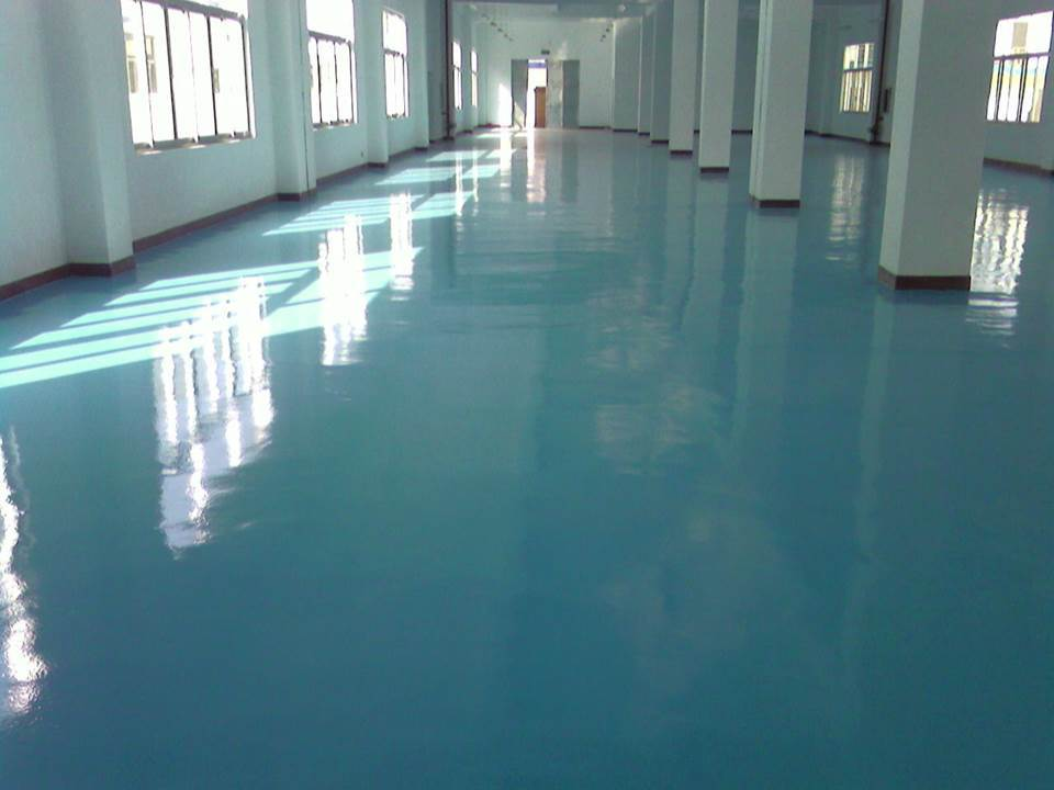 Hot Selling - Maydos Oil Based Chemical & Scratching Resistant Self Leveling Epoxy Resin Floor Coating