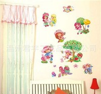 wholesale cartoon character wall stickers kids 3d wall stickers