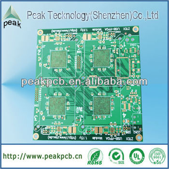 High quality BGA rigid fr4 pcb board made in China factory