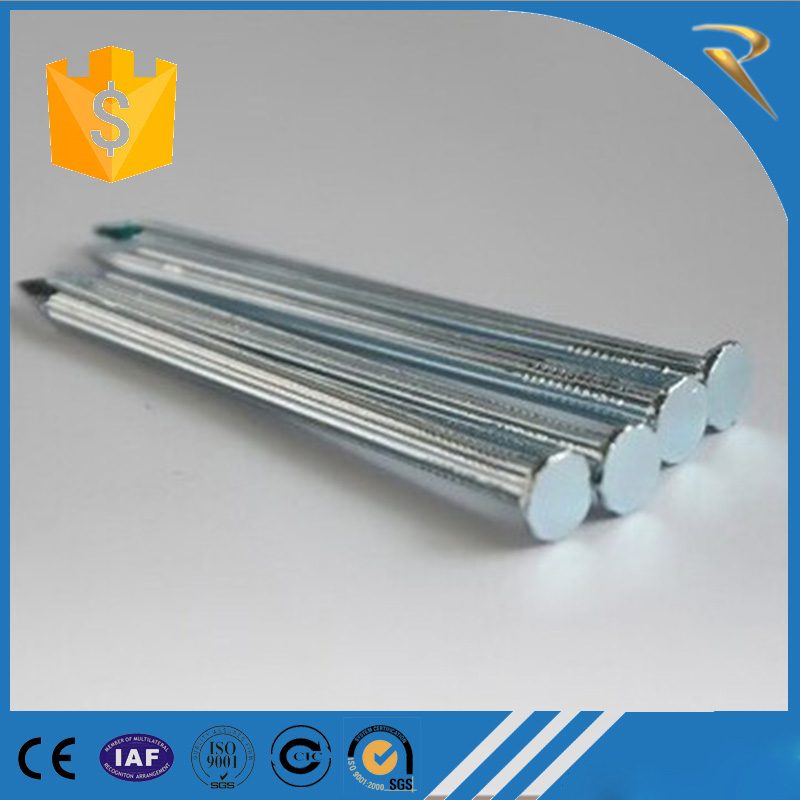 Galvanized Smooth Concrete steel Nails Manufacturer